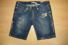 Original P/&Y corsaire jeans denim bleu clair taille 36  neuf