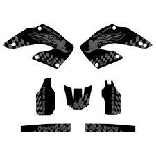 Honda CR125 CR250 2000-2001 Woody graphics kit black highlight FREE SHIPPING!!!