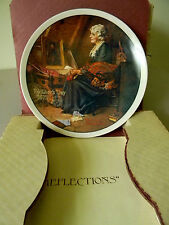 "Rockwell's ""Reflections"" Mothers Day 1979 Knowles - 4th In Series"