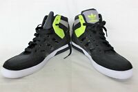 Pre-Owned Mens Black/Yellow/Silver Adidas High Tops Size 13 #108206521