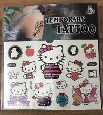 Nuevo Hello Kitty Hoja Tatuaje Temporal Niños Niños Fiesta De Cumpleaños Bolsa Relleno