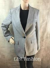 ZARA LIGHT GREY BLAZER SIZE MEDIUM (B3) REF: 2377 253