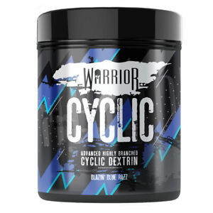Warrior Cyclic 400g Pre & Intra Workout Muscle Pump Advanced Carbohydrate Powder
