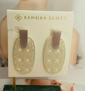 Kendra Scott Silver Drop Earrings Free Shipping