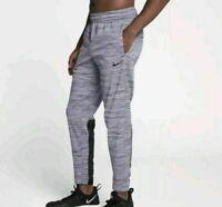 NWT Men's Nike DRI FIT THERMA WINTERIZED SWEAT PANTS JOGGERS AQ4167-010