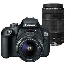 Canon EOS 2000D 24.1MP DSLR Camera + 18-55mm III Lens + 75-300mm Lens