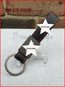 Keyring for Mercedes ☆ AMG ☆ Metal Keychain ☆ High quality Faux Leather ☆