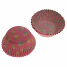 100 x Eddingtons Small Mini Paper Fairy Cake Cupcake Muffin Cases Heaven Pink