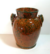 Huge Redware Crock, Made in Italy.