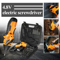 45 in 1 Power Tool Rechargeable Cordless Electric Screwdriver Drill Kit Wireless