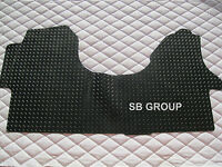 TO FIT A VW CRAFTER 2016 LWB VAN, CUSTOM MADE RUBBER MAT