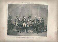 1827 TRAITÉ BAYONNE Madou Abdications Napoleone Napoleon Carlos IV Fernando VII