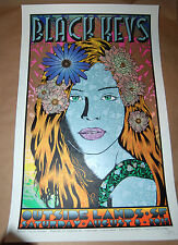 Chuck Sperry Black Keys Poster Outside Lands Signed Numbered of 225 Screen Print