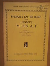 VOCAL SCORE Handel Messiah ARR per ragazze o ragazzi voci