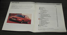 Audi A4 B5 Modell 1995 Selbststudienprogramm  SSP 167 Technischer Stand  02/1995