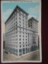 POSTCARD USA MISSOURI ST LOUIS  AMERICAN HOTEL