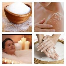 Epson Salts Pure Magnesium Sulphate Body Scrub Healing Soothing Pains Aches 100g