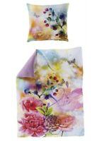 Bierbaum Bettwäsche Mako Satin Digitaldruck Art. 5035 Blüten 135x200cm