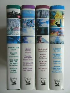 Readers Digest 4 in 1 Condensed Books x 4 16 Stories Follett Lee Child Cornwell