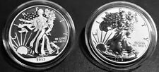 2013-W Reverse Proof & Enhanced SILVER EAGLE - West Point Anniversary 2-Coin Set