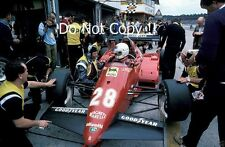 Rene Arnoux Ferrari 126C3 Winner German Grand Prix 1983 Photograph 2