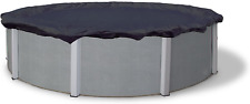 New listing Blue Wave Bronze 8-Year 18-ft Round Above Ground Pool Winter Cover