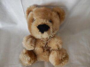 Beariff The Sheriff Teddy Bear Plush Stuffed Animal Brown VTG 1986 Avon 8in