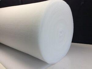 Polyester DACRON / WADDING / BATTING 150gsm - 30m Long x 150cm Wide