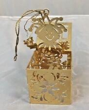 "Danbury Mint 1984 Gold ""Jack In The Box�"