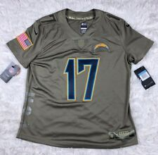 160ca3934 NFL Nike La Chargers Rivers  17 Salute to Service Jersey Women s Size XXL