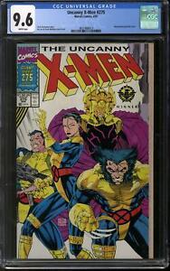 Uncanny X-Men #275 CGC 9.6 (W) Jim Lee & Scott Williams Wraparound Cover