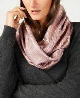 INC International Concepts Liquid Shine Infinity Scarf, Purple Lilac