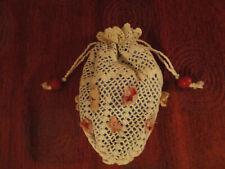 Antike Tasche Netz Säckchen für die antike Puppe