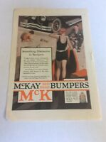 1926 MAGAZINE AD #A3-110 - McKay Red Bead Bumpers