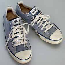 Vintage USA-MADE Converse All Star Chuck Taylor shoes blue size 9.5