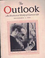 Outlook Magazine December 3 1924 US Naval Academy Firmin Gemier
