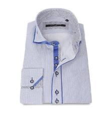 L Button Cuff Machine Washable Formal Shirts for Men