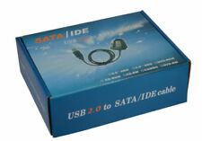 USB 2.0 to SATA IDE Hard Drive Cable for HD HDD Adapter W Power Crystal