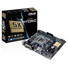 ASUS H110M-D LGA 1151 Intel H110 SATA 6Gb/s USB 3.0