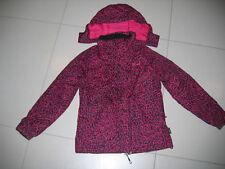 Sehr shöne Herbst -Winter Jacke , pink-schwarz in Gr. 140 von Etirel