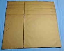 "Vtg . Regina Music Disc Envelopes . 16"" . Lot of 10"