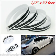 9.8m /32 Feet Streamlined Car Body Decor Pinstripe 12mm Tape Vinyl Decal Sticker