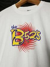 THE B-52's* Vintage Concert T-SHIRT XL 2000 Tour 90's New-Wave Rock B52s
