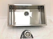 Undermount Kitchen Sink - Large Single Bowl, 750x440x200mm, Square Corners