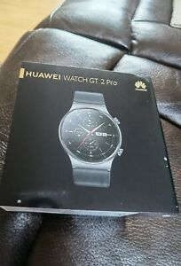 Huawei Watch GT 2 Pro 47mm Titanium Case with Fluoroelastomer Strap - Night Blac