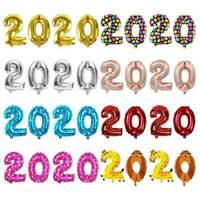 """16"""" Balloon Aluminum Foil Number 2020 Happy New Year Party Festival Decor Kit"""