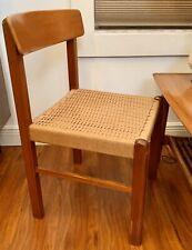 Rare Mid Century Wegner Mobler Arm Chair Danish Teak Dining Wood Sweden