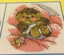 """Country Companions Cross Stitch Chart: """"Snuggle Time"""""""