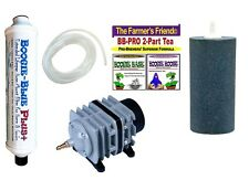 STOP SELL IN CA ! Boogie Brew Deluxe Kit / 6lbs Boogie TEA, 45L Air Pump, FILTER
