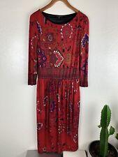 Etro Women's Viscose Floral Dress Size 48